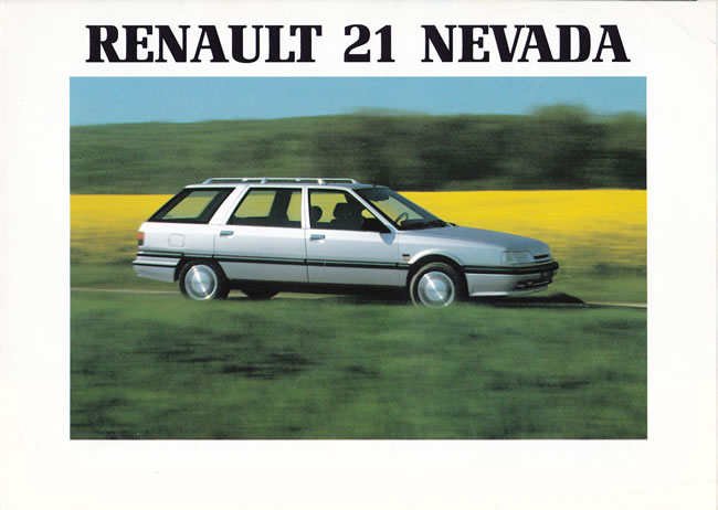 minirenault com brochures renault 21 nevada. Black Bedroom Furniture Sets. Home Design Ideas